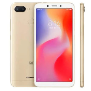 Xiaomi Redmi 6 3GB+32GB (Gold) (Ростест)